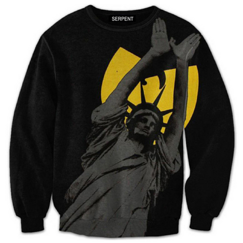 Statue Of Wu-Tang Sweatshirt