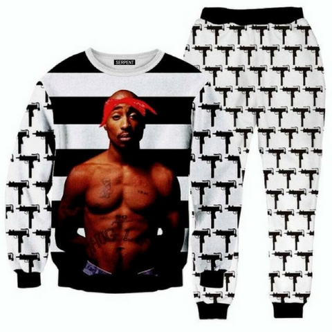 2pac Tupac Full Tracksuit