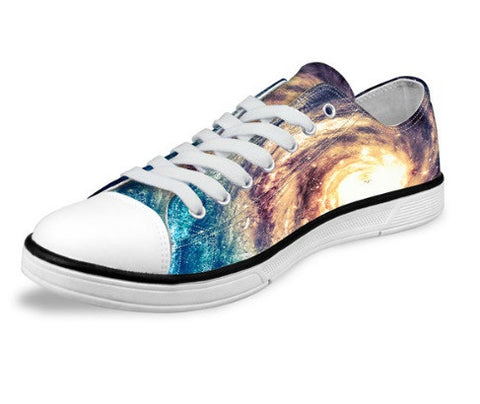 Panorama Galaxy Canvas Shoes