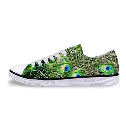 Women's Peacock Feather Shoes