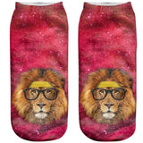 Lion Galaxy Socks