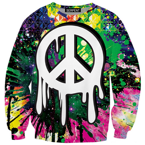 Drippy Peace Sweatshirt
