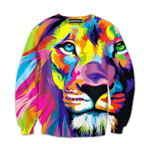 Lion King of Color Sweatshirt