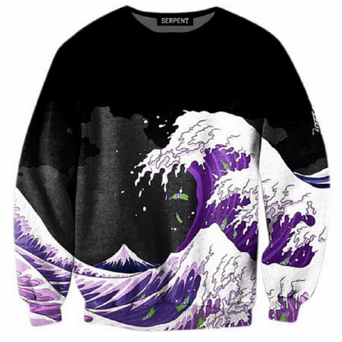 Purple Drank Wave Sweatshirt