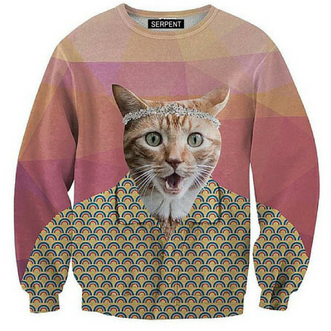 Grandad Cat Sweatshirt