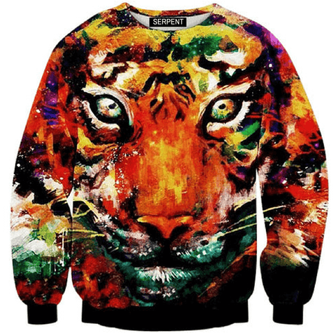 Swag Tiger Sweatshirt