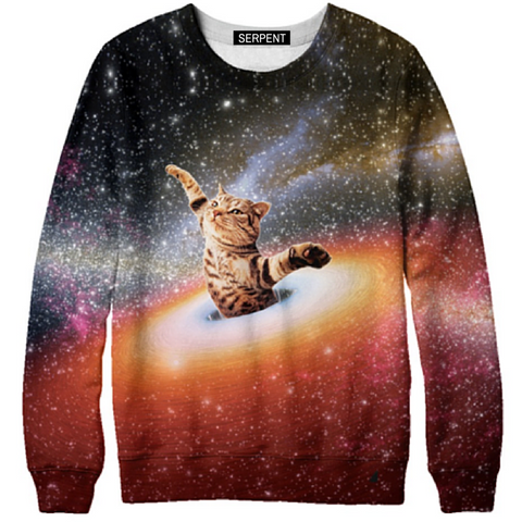 Cat Nebula Sweatshirt