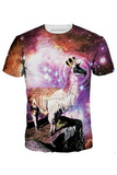 King Space Llama T-Shirt