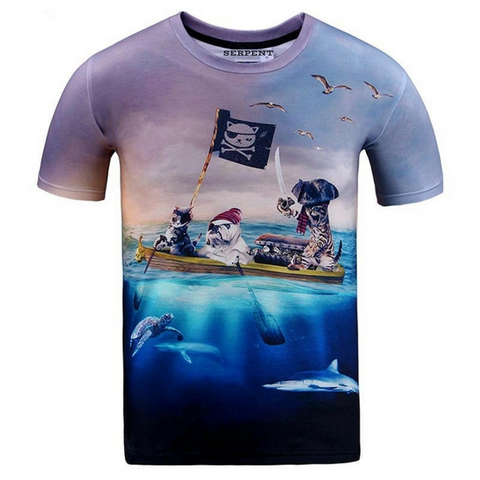 Animal Pirate T-Shirt