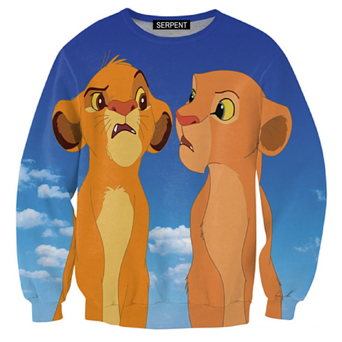 Simba and Nala Sweatshirt