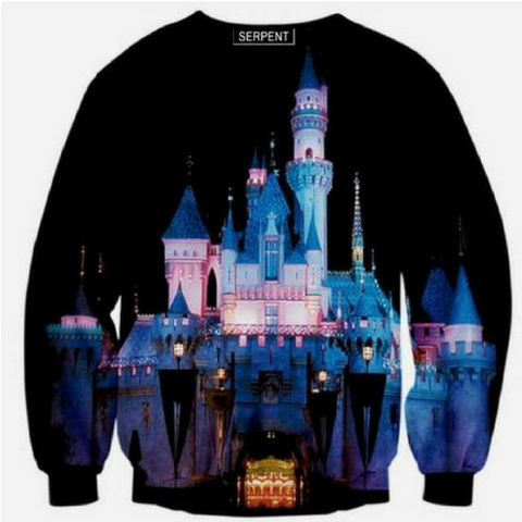 Castle princess Disney Sweatshirt
