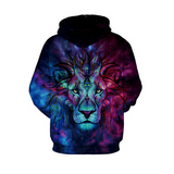 Space Abstract Lion Jacket