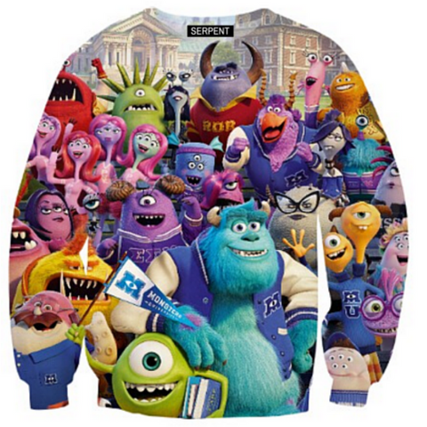 Monsters Party Sweatshirt