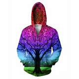 Star Tree Hooded Jacket