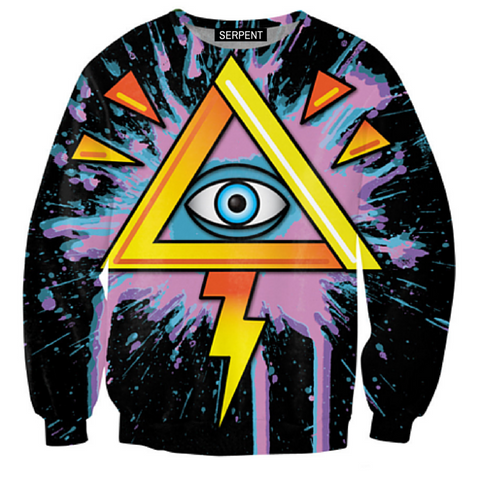 Illuminati Bolt Sweatshirt