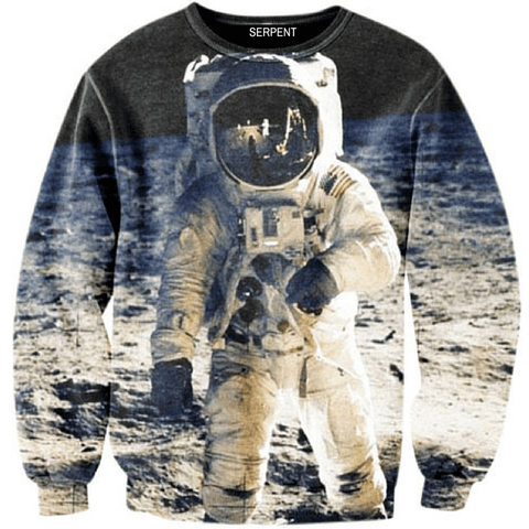 Space Man In Outer Space Sweatshirt