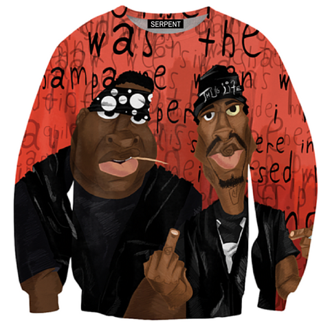 Biggie And Pac Sweatshirt