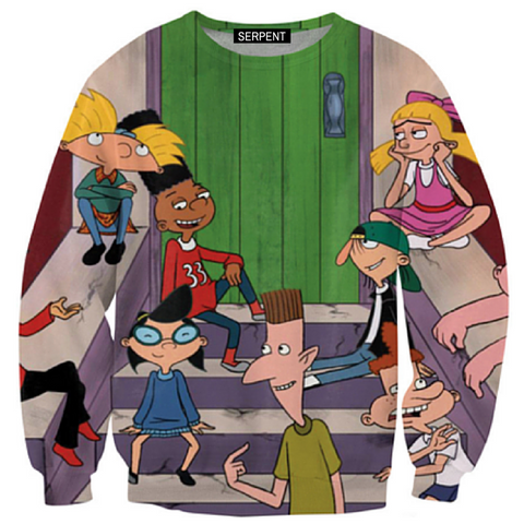Arnold And Friends Sweatshirt