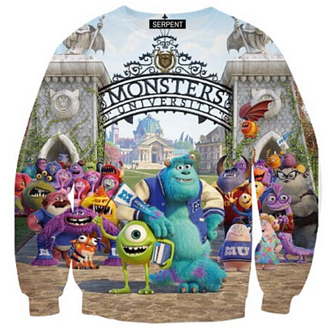 Monsters University Sweatshirt