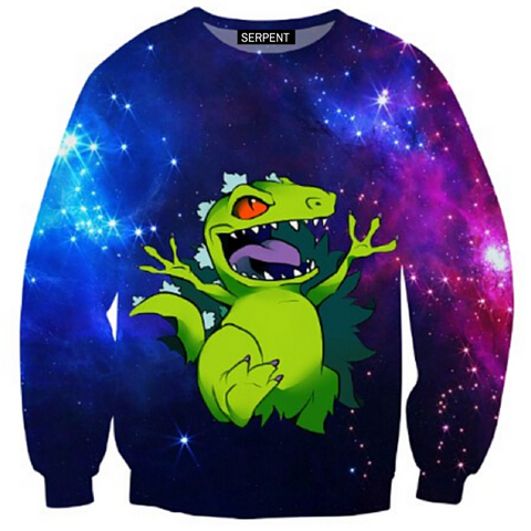 Reptar Galaxy Sweatshirt