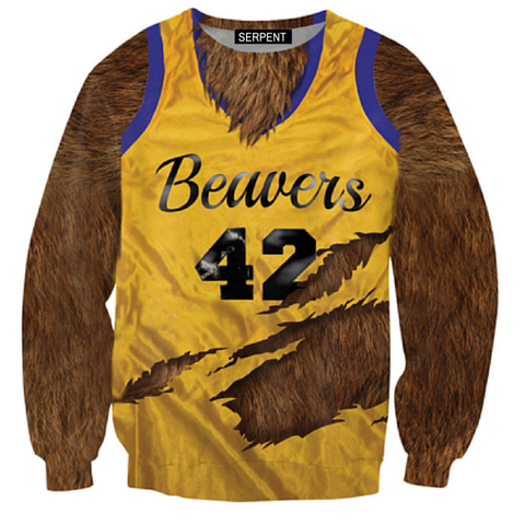 Beavers BasketBall Sweatshirt