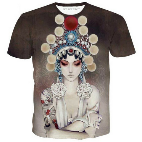 Beijing Opera Actor T-Shirt