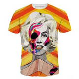 Abstract Marilyn Monroe T-Shirt