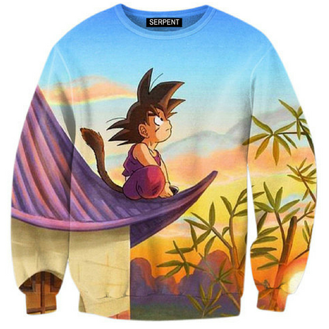 Son Goku Sunset Sweatshirt