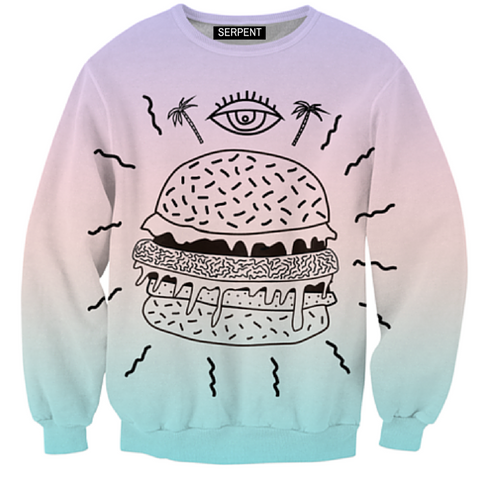 Burger Punx Sweatshirt