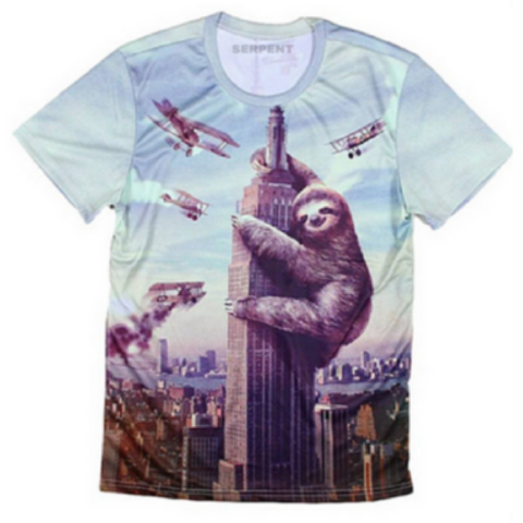 Sloth Zilla T-Shirt