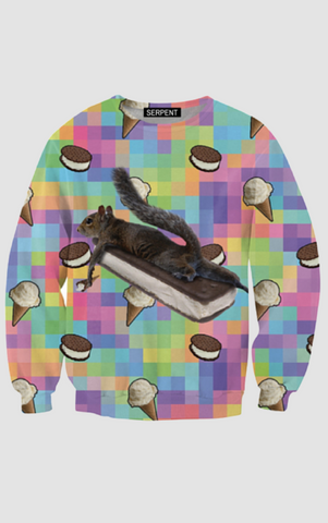 It's All About The Ice Cream Sweatshirt