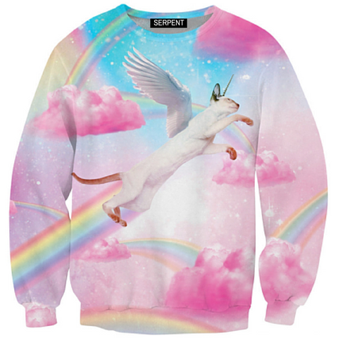 Fly High Kitty Sweatshirt