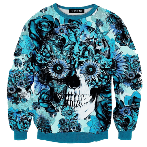 Cool Skull Sweatshirt