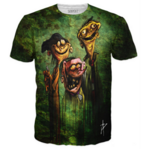 Ed Edd n Eddy on Bath Salts T-Shirt