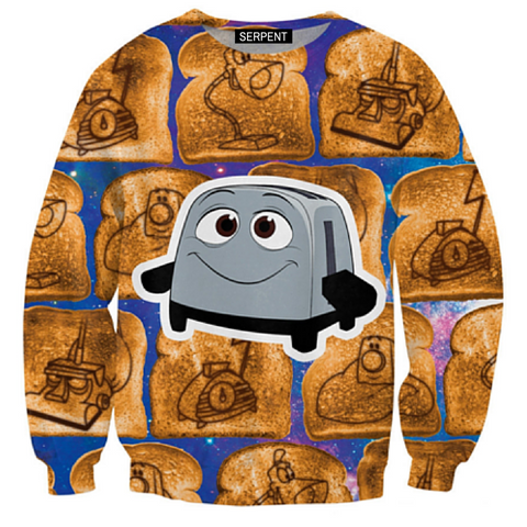 The Brave Little Toaster Sweatshirt
