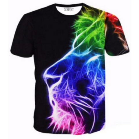Lion King Of Color T-Shirt