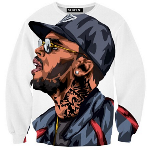 Chris Brown Harajuku Art Sweatshirt