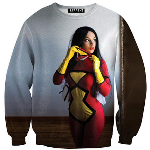 Spiderwoman Sweatshirt