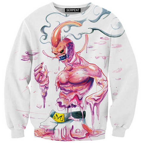 Melting Super Buu Sweatshirt