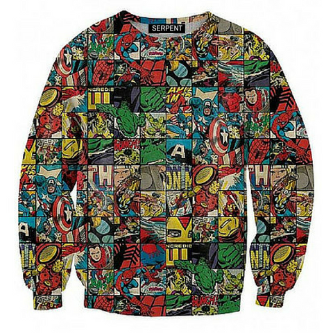 Retro Marvel Sweatshirt