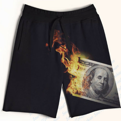 Burning Money Shorts