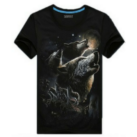 Wolfs Glow In The Dark T-Shirt