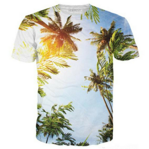 Palm Trees On A Hot Sunny Day In Cali T-Shirt