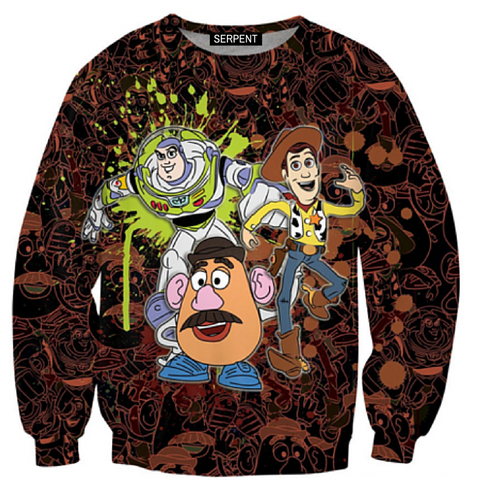 Toy Story Splatter Sweatshirt