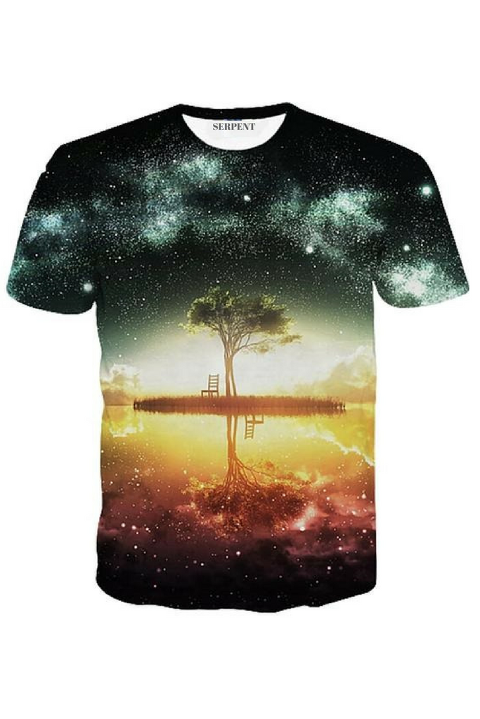 The Lake at Night T-Shirt