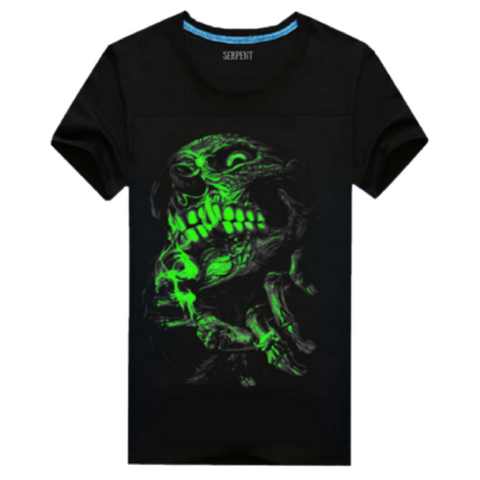 Skull Glow In The Dark T-Shirt