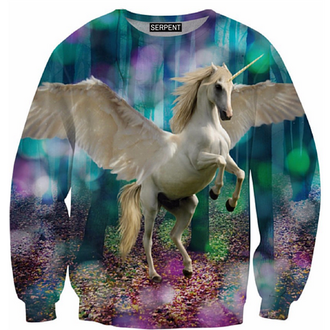 Happy Unicorn Sweatshirt