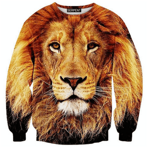 Majestic Lion. Sweatshirt