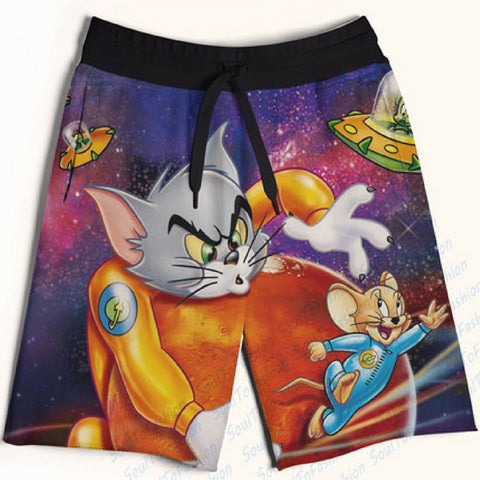 Galaxy Tom & Jerry Shorts