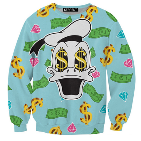 Dollar Duck Sweatshirt